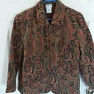 Jackets & Blazers - BON WORTH JACKET SZ M PETITE